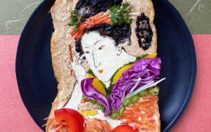 Не ешьте этот тост! Это произведение искусства