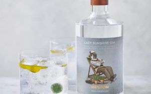 Новый джин Lazy Sunshine Gin - подавать с оливковым маслом