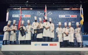 Норвегия - призер Bocuse d'Or Europe 2020