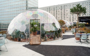 Геокупола – новый инновационный тренд для отелей, ресторанов и кафе