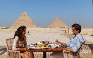 Ужин с фараонами пирамид Гизы