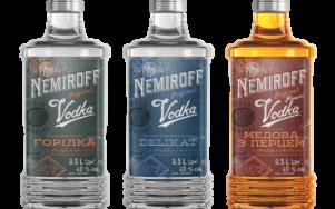 Nemiroff представил новый дизайн бутылки