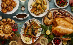 Рождественский ужин от Мишленовских ресторанов с доставкой домой