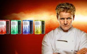 Новые напитки Hell's Seltzer от Гордона Рамзи