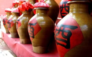 Китайські вина, горілка шоджу і байцзі