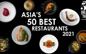 Лучшие рестораны Азии за 2021 год