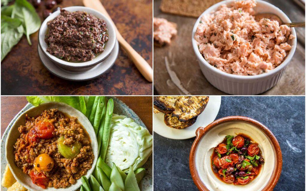 Вкусные соуса и закуски со всего мира