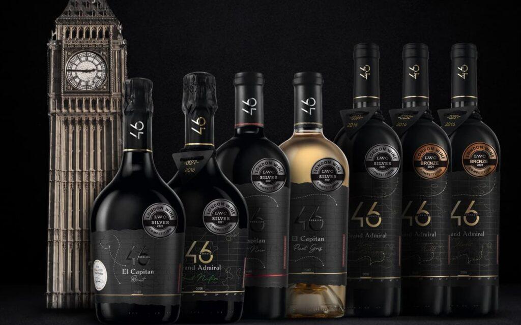 Перемога українських вин 46 Parallel на конкурсі London Wine Competition 2021