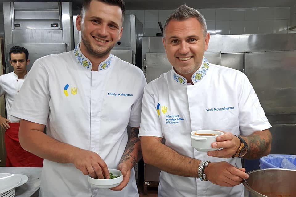 Презентация украинской кухни в Египте