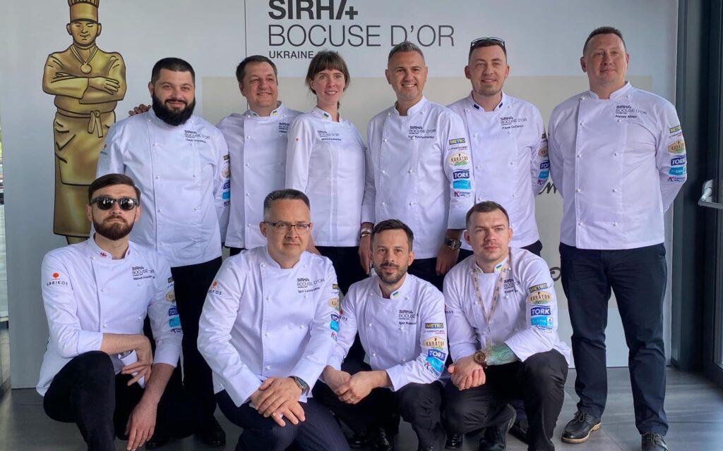 Победители отборочного тура Bocuse d'Or Ukraine