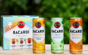 Bacardi представляет новые консервированные коктейли