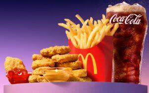 Прирост выручки сети McDonald's составил более 50%