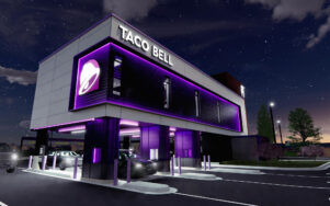 Новая концепция Drive-Thru компании Taco Bell - кухня над автомобилем