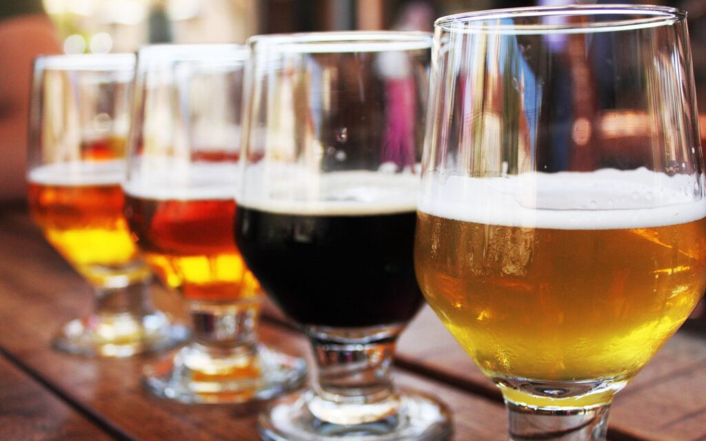 Карта популярности пива в мире